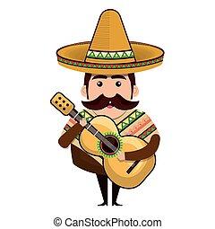 avatar mexican man cartoon - avatar man cartoon with...