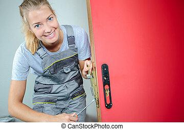 the defective doorknob