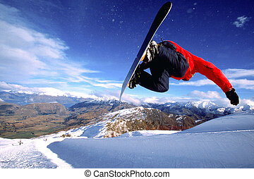 Naoki Ito (JPN) Coronet Peak, Half Pipe Queenstown, New...