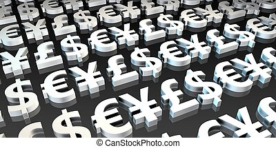 Forex or Foreign Exchange Investment Trading as Concept