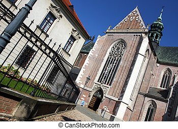 Building of Monastery at Mendel square in Brno, Czech...