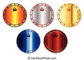 Metal Gambling Chips