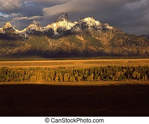 teton,  Wyoming, Grandiose