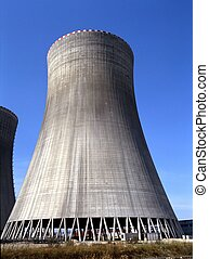 Cooling Tower, Nuclear Power Plant, Temelin, Czech Republic