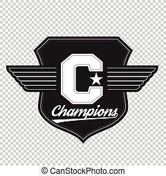 Sport athletic champions college varsity baseball football...