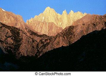 カリフォルニア, 山,  whitney