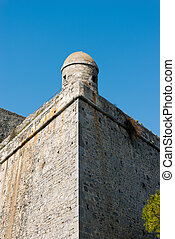 Portovenere Castle with a Sentry Box - Liguria Italy -...