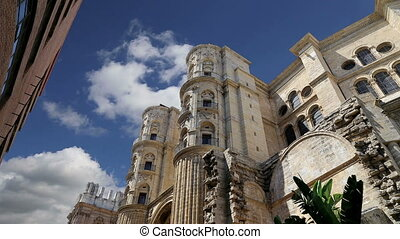 Cathedral of Malaga.Spain