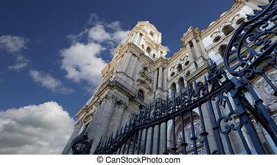 Cathedral of Malaga.Spain - Cathedral of Malaga is a...