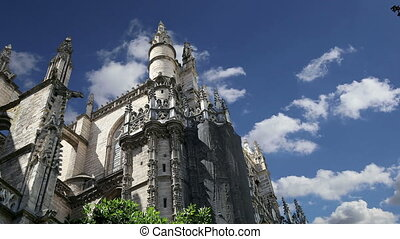 Cathedral of Seville -- Spain - Cathedral of Seville --...