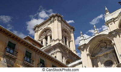 Granada Cathedral, Spain - Granada Cathedral (Cathedral of...