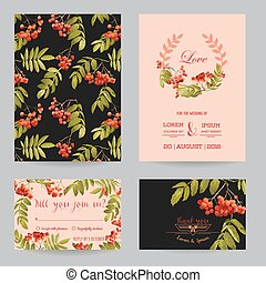 Save the Date - Wedding Invitation or Congratulation Card...