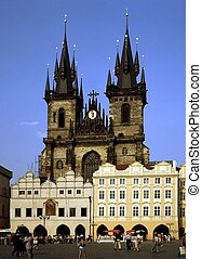 Church Our Lady of Tyn, Prague