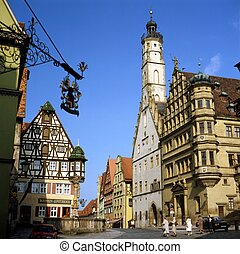 Town Hall, Rothenburg, Germany