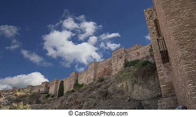 Alcazaba castleMalaga, Spain - Alcazaba castle on Gibralfaro...