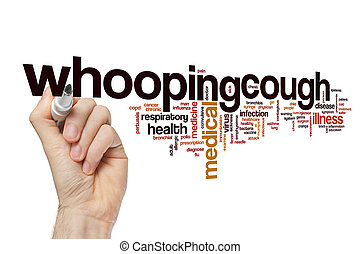 Whooping cough word cloud concept - Whooping cough word...