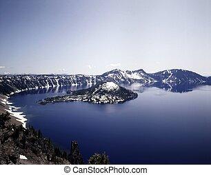 Crater Lake, Oregon,