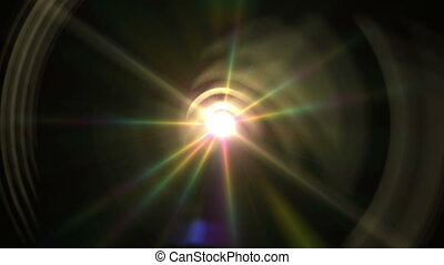 lens flare ray light