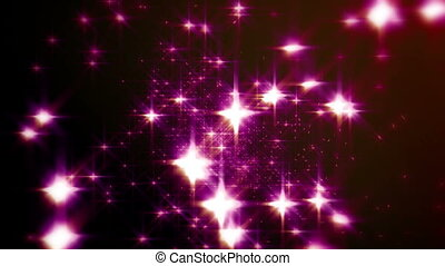 dance particle stars