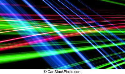 fractal color line background