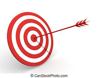 Target. 3d