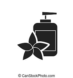 spa relax service isolated icon