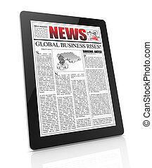 news on tablet