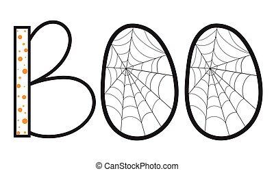 Spider Web Boo - Spider Boo