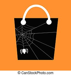 Spider Web Candy Bag