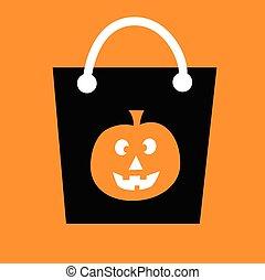 Pumpkin Candy Bag