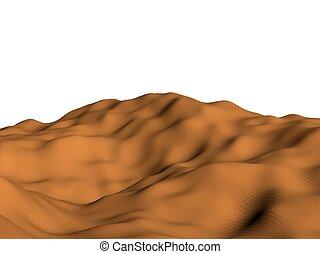 Background desert