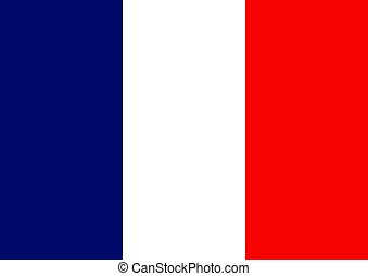 French Flag - Illustration of a French Flag