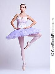 ballerine,  position