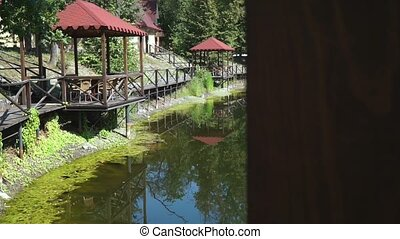 Gazebo on the lake - Place to relax - Gazebo on the lake