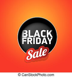 Black Friday sales tag. vector illustration - Black Friday...