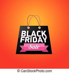 Black Friday sales tag vector illustration - Black Friday...