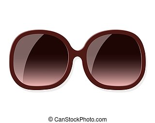 Vector of fashionable woman sunglasses - Vector illustration...