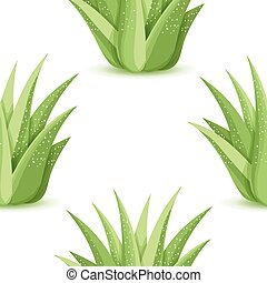Agave - vector seamless pattern - Agave - seamless pattern...