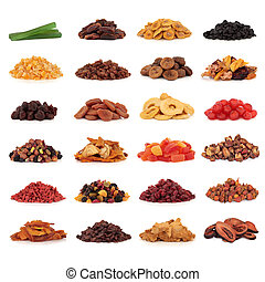Dried Fruit Collection - Large collection of dried and...
