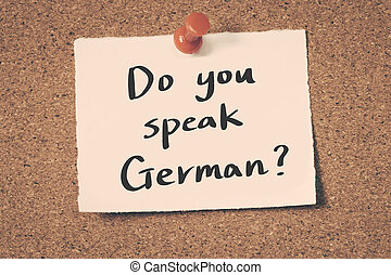 how to speak german with a german accent