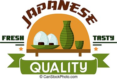 Japanese quality food. Fresh and tasty - Japanese food...