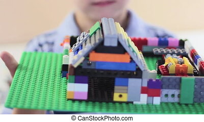 Boy Shows designed toy house