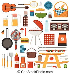 Barbecue and Picnic Set