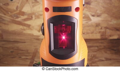 The laser measurement level for construction works .