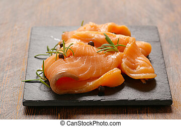 salty salmon red fish