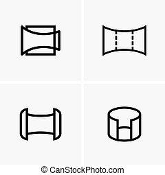Panorama symbols