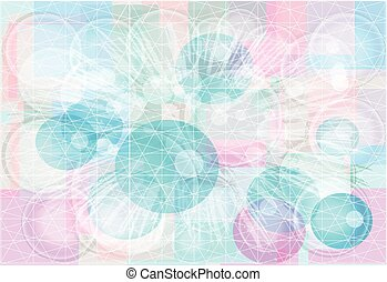 Abstract background in pastel colors.