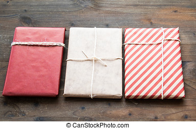 Gift Wrapped in Craft Paper