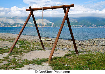 Swing on to coast Tsemes Bay