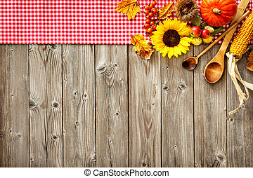 Colorful background for Halloween and Thanksgiving -...